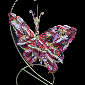 Quilled Treasures - Butterfly (No. 4)