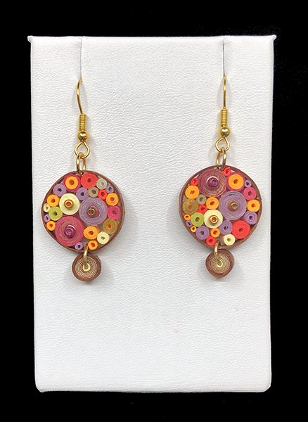 Quilled Treasures - Earrings