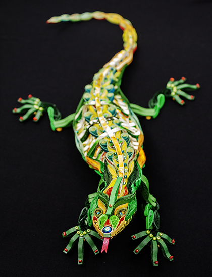 Quilled Treasures - Lizard (No. 1)