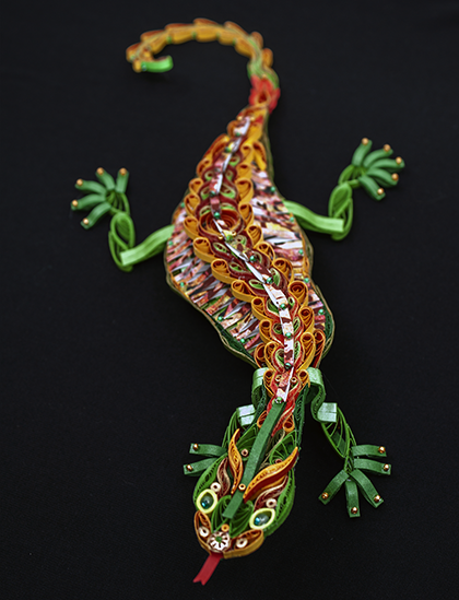 Quilled Treasures - Lizard (No. 2)