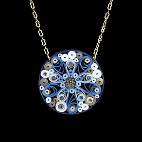 Quilled Treasures - Necklace 12