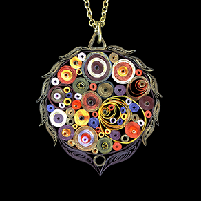 Quilled Treasures - Necklace 5