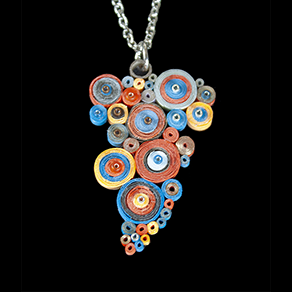 Quilled Treasures - Necklace 6