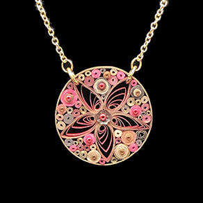 Quilled Treasures - Necklace 7