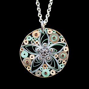 Quilled Treasures - Necklace 8