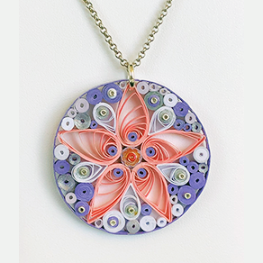 Quilled Treasures - Necklace 9