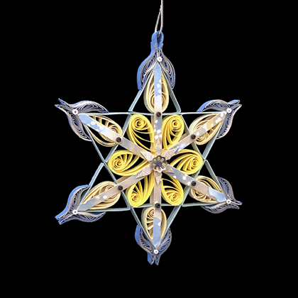 Quilled Treasures - Star Ornament No. 1