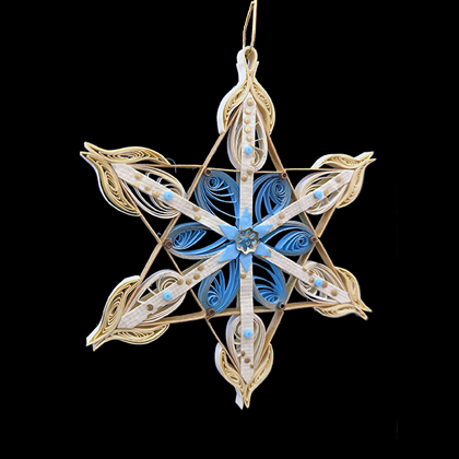 Quilled Treasures - Star Ornament No. 2