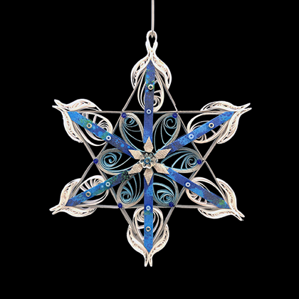 Quilled Treasures - Star Ornament No. 3