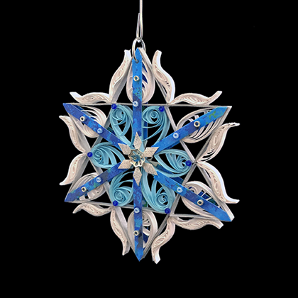 Quilled Treasures - Star Ornament No. 3a