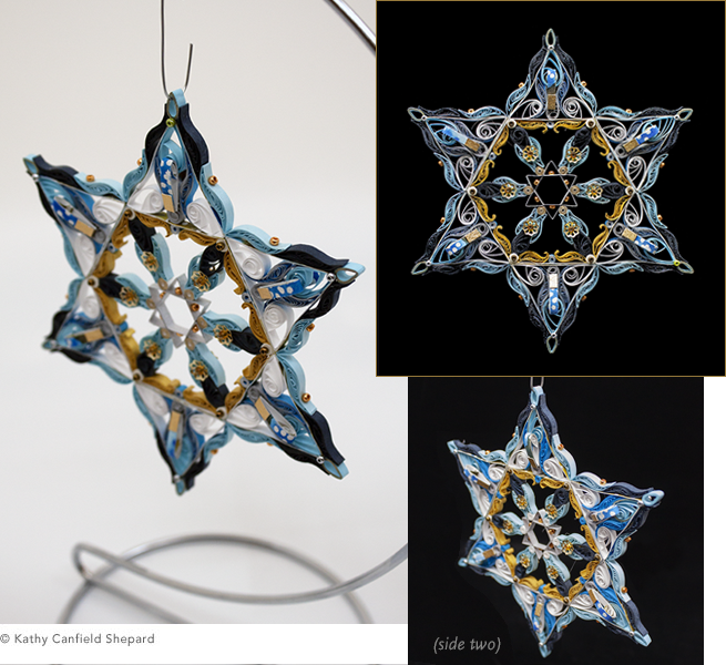 Quilled Treasures - Star of David (No. 2)