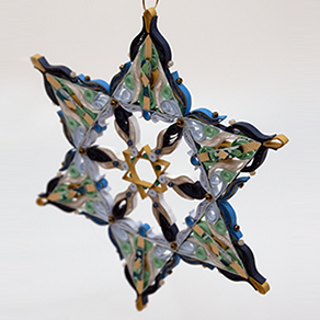 Quilled Treasures - Star of David (No. 4)