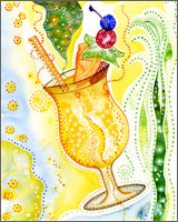 Colorful Cocktails watercolor